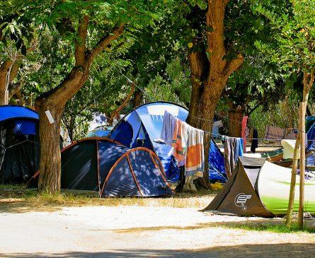 Emplacement camping 3 étoiles Presqu'île de Giens