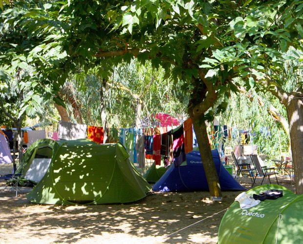 Emplacement tente Presqu'île de Giens